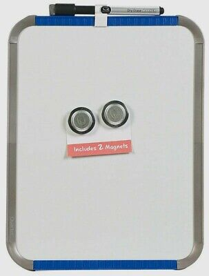 Quartet Dry-erase Board Self-adhesive 11 X 8.5 Includes Marker 2 Magnets New