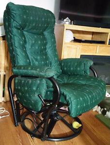 Recliner rocking chair