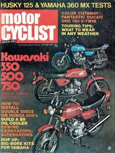 PRE - 1980 Motorcycle magazines. Cycle World, Cycle Guide, etc.