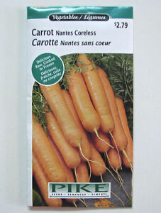 Large Variety Vegetable Seeds - Pikes - 2 years old or less
