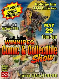 WINNIPEG COMIC & COLLECTIBLES SHOW