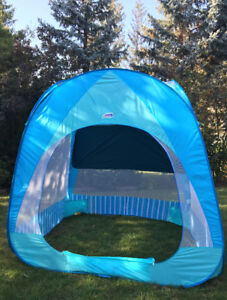 SUPER LARGE DELUXE SUN SHADE FOR BEACH LIKE NEW