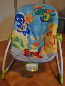 Barely used Baby Einstein baby bouncer