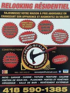Constructions Renostyle Expert en Rénovation Saguenay Saguenay-Lac-Saint-Jean image 3