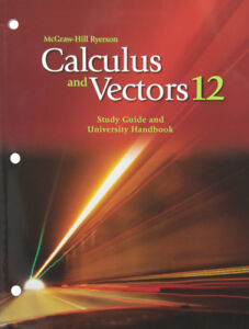 Mcgraw Hill Ryerson - Calculus and Vectors Workbook