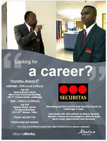Securitas Employer Connection Event - Hiring Security Guards!