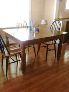 Dining/kitchen table, solid oak