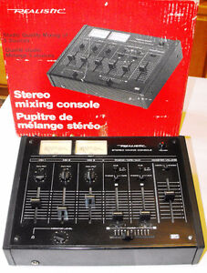 Stereo Mixing Console