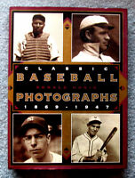 Classic Baseball Photographs 1869-1947