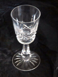 Waterford crystal stemware (Olive) and decanter