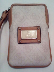 GUESS:  Blush Pink Wristlet/Cell Holder....BRAND NEW