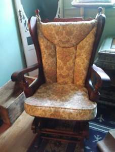 Antique Glide Chair