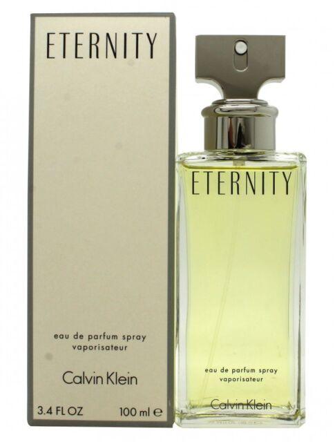 CALVIN KLEIN ETERNITY EAU DE PARFUM 100ML SPRAY - WOMEN'S FOR HER. NEW