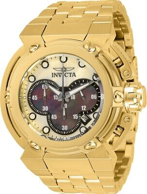 Invicta Men's 46mm X-Wing Coalition Force MOP Dial Gold-Tone SS Bracelet Watch