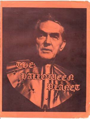 Brochure for unsold Kirk Alyn TV special HALLOWEEN PLANET - ACKERMAN COLLECTION (Tv Halloween Specials)