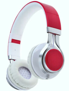 New Extra Bass EP-10 Wired 3.5mm Jack Pink Headphones