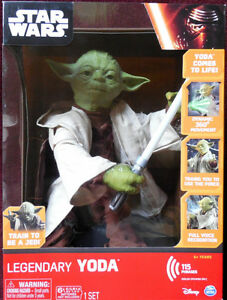 LEGENDARY MASTER YODA UP FOR SALE....GREAT CHRISTMAS GIFT !!!! Cambridge Kitchener Area image 1