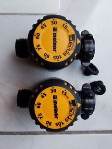 Water Timer Melnor Mechanical AquaTimer (2 Pieces) NEW