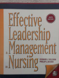 Effective Leadership and Management in Nursing 6th Edition
