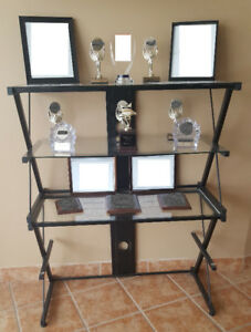 GLASS DISPLAY UNIT - NEW REDUCED PRICES!!!