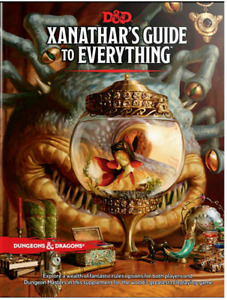 Zanathar's Guide to everything dnd 5e Book New