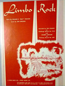 Sheet Music for Piano, Limbo Rock
