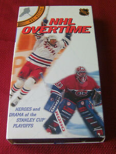 5--Great NHL videos on VHS
