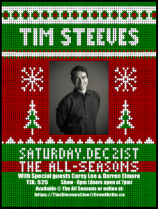 TIM STEEVES HOMECOMING COMEDY SHOW!!