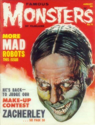 Famous Monsters of Filmland #15 Photocopy REPLICA Magazine