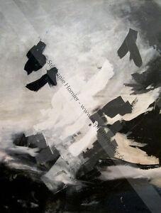 toile, peinture acrylique, oeuvre d'art, art abstrait