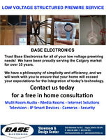 Low Voltage Structured Prewiring Service