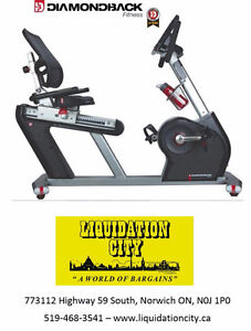 Diamondback Recumbent Bike 910SR - BRAND NEW