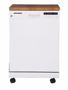 GE Lave-vaisselle 24'' portatif avec cuve Stainless Neuf !! 599$