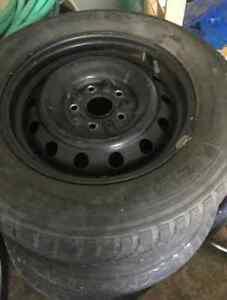 "4 Toyota 15"" 5-bolt RIMS ONLY 5x114.3 hub 60.1"