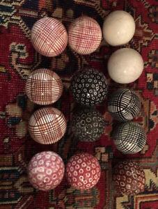 Victorian Carpet Balls