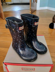 Hunter rainboots size 10 (toddler)