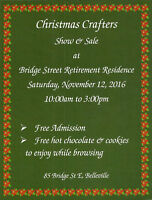 Christmas Crafters Show & Sale