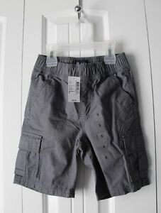 NWT - Childrens Place Grey Boys Shorts - Size 5