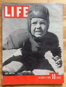 LIFE Magazine - October 9, 1939 - Queen Elizabeth, Yankees.