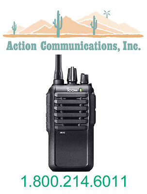 New Icom Ic-f3001-03-rc Vhf 136-174 Mhz 5 Watt 16 Channel Two Way Radio
