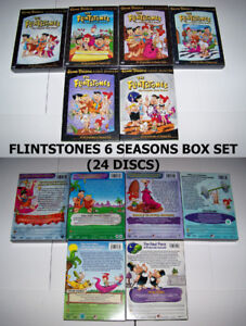 """Flintstones & Jetsons DVD Boxsets in """"NEW LIKE CONDITION"""""""