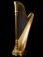 Live harp music for weddings and events