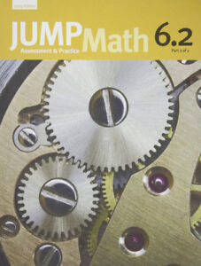 Jump Math 6.2 Part 2 of 2 Workbook | SHIPPING AVAILABLE