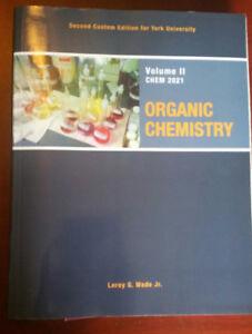Organic Chemistry Vol II Wade