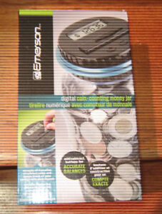 Coin Counter Money Jar, New in Box