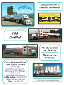 Qualified Drivers Wanted
