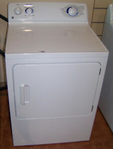 GE/Beaumark Washer and Dryer, White, Very clean