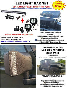 JEEP WRANGLER ACCESSORIES/PARTS & LED LIGHTS London Ontario image 8