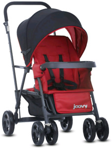 Poussette joovy caboose sit and stand