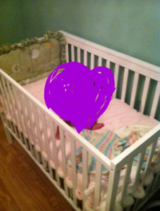 Lit bebe 3 en 1 / 3 in 1 crib